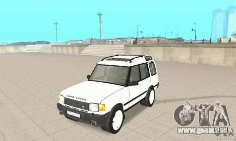 Land Rover Discovery 2 für GTA San Andreas
