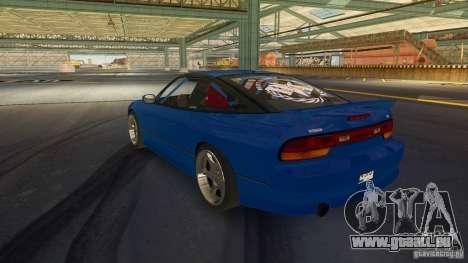Nissan 240SX Drift pour GTA 4 est une gauche