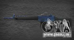[Point Blank] SG550 Blue pour GTA San Andreas