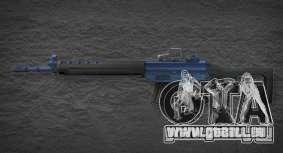 [Point Blank] SG550 Blue für GTA San Andreas