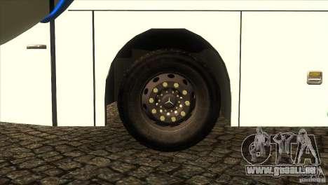 Hino New Travego RK1 pour GTA San Andreas vue intérieure