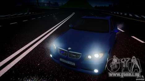 BMW 3-Series Unmarked [ELS] pour GTA 4 est un côté