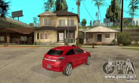 Opel Astra für GTA San Andreas rechten Ansicht