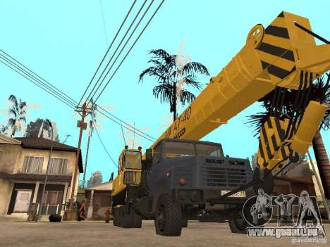 MKAT-40 issu de Kraz-250 pour GTA San Andreas