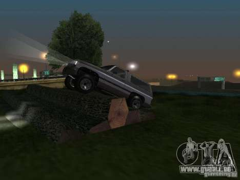 Éleveur de GTA 4 pour GTA San Andreas vue de côté