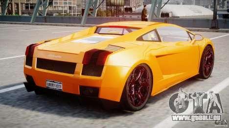 Lamborghini Gallardo Superleggera pour GTA 4 est un droit