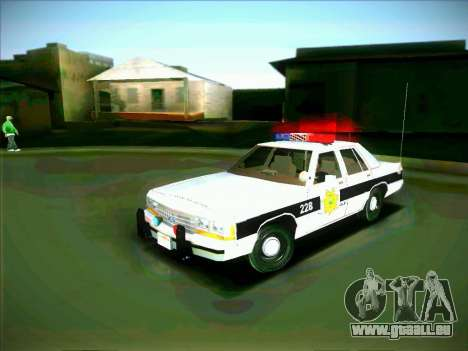 Ford Crown Victoria LTD 1991 HILL-VALLEY Police pour GTA San Andreas