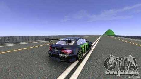 BMW M3 Monster Energy für GTA 4 rechte Ansicht