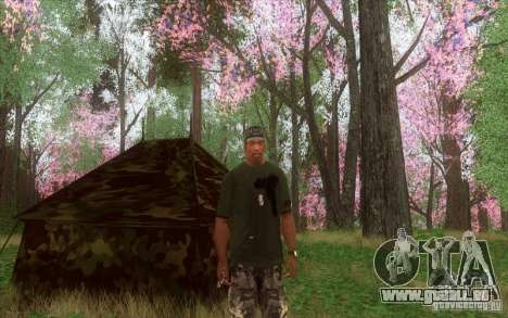 Töne des Waldes für GTA San Andreas