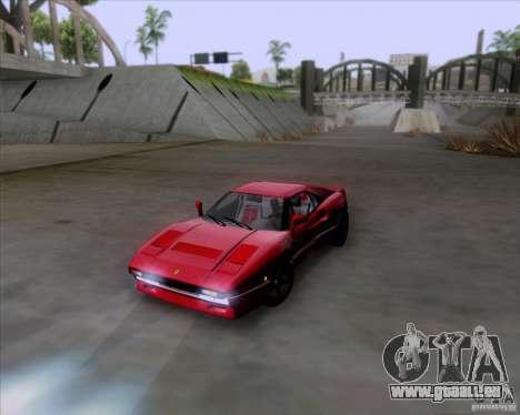 Ferrari 288 GTO für GTA San Andreas linke Ansicht
