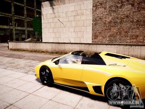 Lamborghini Murcielago LP650-4 Roadster pour GTA 4 est une gauche