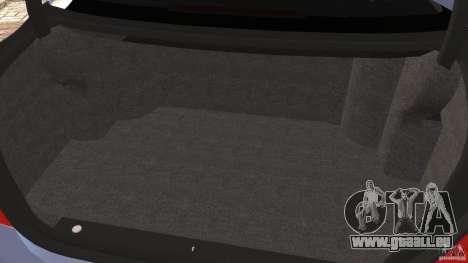Mercedes-Benz S W221 Wald Black Bison Edition pour GTA 4 est une vue de dessous