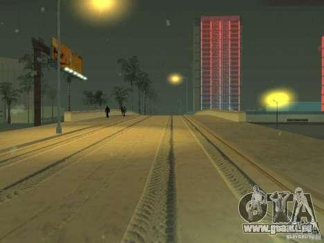 Neige v 2.0 pour GTA San Andreas quatrième écran