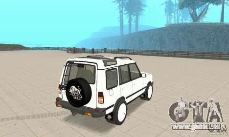 Land Rover Discovery 2 für GTA San Andreas linke Ansicht