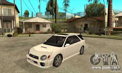 Subaru Impreza WRX Wagon 2002 pour GTA San Andreas