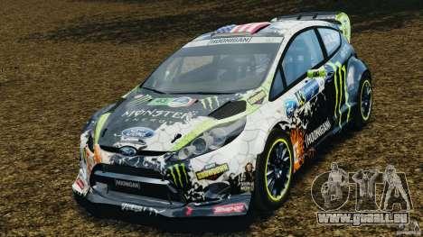 Ford Fiesta RS WRC Gymkhana v1.0 für GTA 4