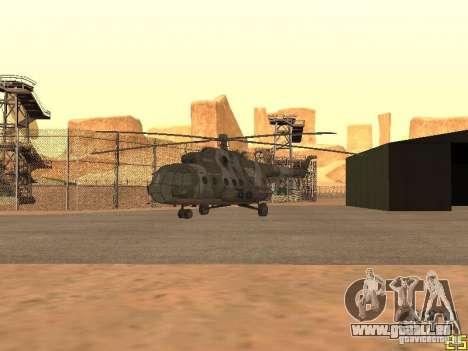 MI 17 für GTA San Andreas Rückansicht