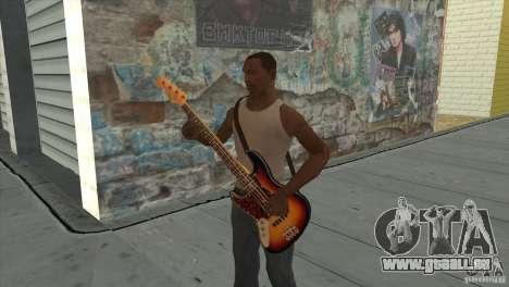 Chansons de films à la guitare pour GTA San Andreas dixième écran