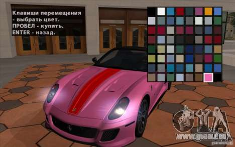 Mobile TransFender für GTA San Andreas dritten Screenshot