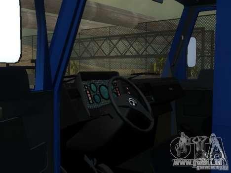 Grundlagen der t-713 für GTA San Andreas Seitenansicht