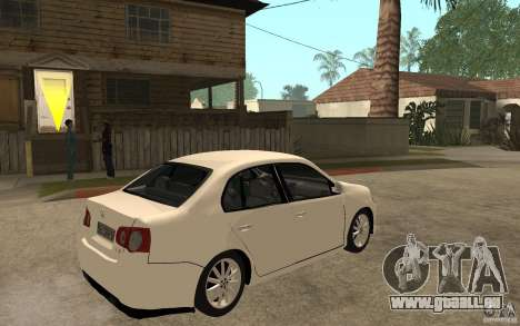 Volkswagen Jetta 2008 pour GTA San Andreas vue de droite