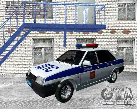 VAZ 21099 DPS pour GTA San Andreas