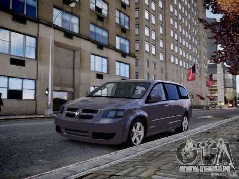 Dodge Grand Caravan SXT 2008 für GTA 4 hinten links Ansicht