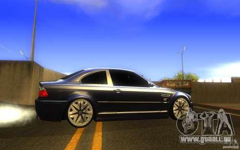 BMW M3 E46 V.I.P für GTA San Andreas linke Ansicht