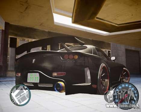 Mazda RX-7 FD3S Veilside für GTA 4 linke Ansicht
