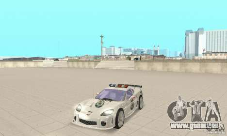 Chevrolet Corvette C6 Polizei-Sergeant Cross NFS für GTA San Andreas