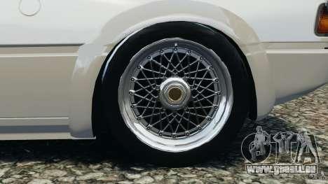 BMW M1 Procar pour GTA 4 est une vue de l'intérieur