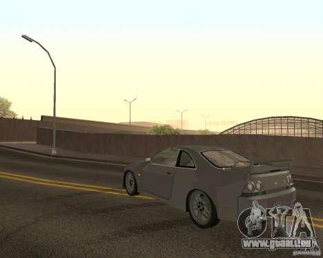 Nissan Skyline GT-R R-33 für GTA San Andreas Innen