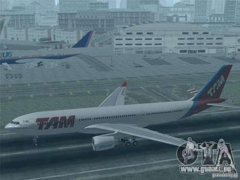 Airbus A330-223 TAM Airlines pour GTA San Andreas salon