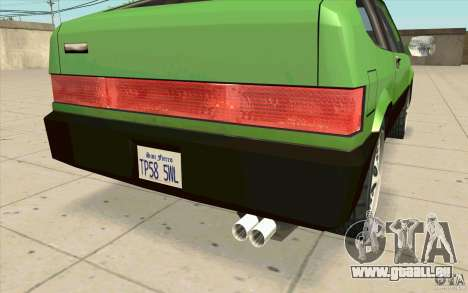Mad Drivers New Tuning Parts für GTA San Andreas sechsten Screenshot