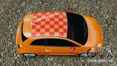 Fiat 500 Abarth pour GTA 4 est un droit