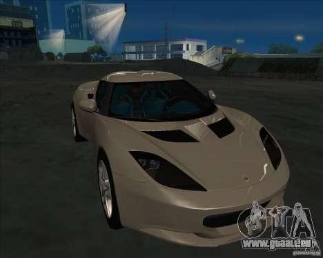 Lotus Evora pour GTA San Andreas