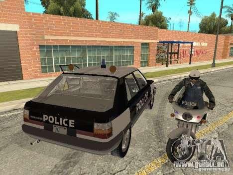 Renault 11 Police pour GTA San Andreas laissé vue