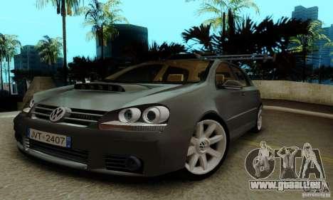 Volkswagen Golf 5 TDI für GTA San Andreas rechten Ansicht