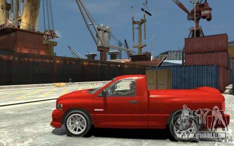 Dodge Ram SRT-10 v.1.0 pour GTA 4 est une gauche