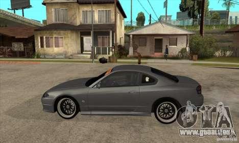 Nissan Silvia S15 JDM pour GTA San Andreas laissé vue