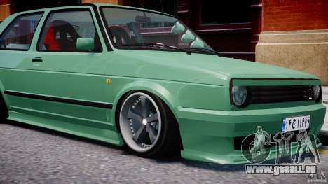 Volkswagen Golf MK2 Tuning pour GTA 4 roues