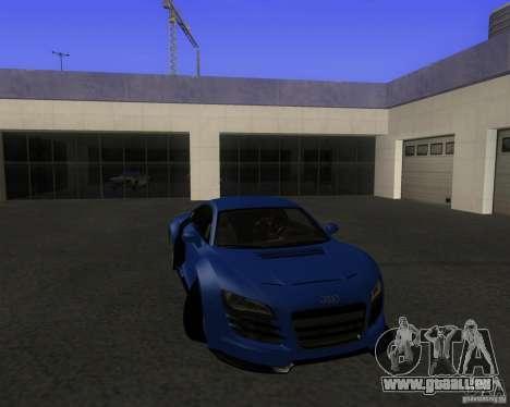 Audi R8 5.2 FSI pour GTA San Andreas