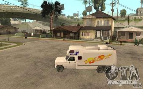 Ford F150 Carvana Dragostei pour GTA San Andreas laissé vue
