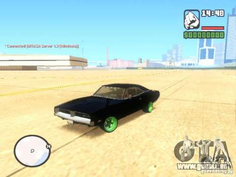 Dodge Charger Custom 1969 pour GTA San Andreas