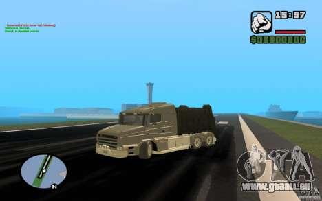 Scania T164 camion à ordures pour GTA San Andreas