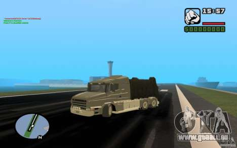 Scania T164-Müllwagen für GTA San Andreas