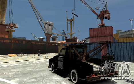Black Towtruck für GTA 4 hinten links Ansicht