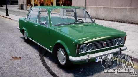 Fiat 125p Polski 1970 pour GTA 4 est un côté