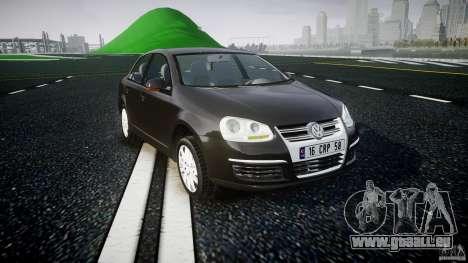 Volkswagen Jetta 2008 pour GTA 4 Vue arrière
