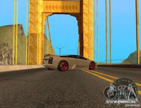 Golden Gate pour GTA San Andreas deuxième écran
